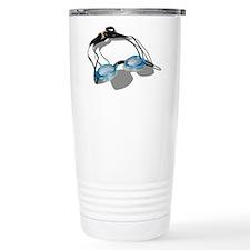 Swimming Goggles Travel Mug