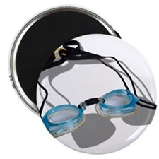 "Swimming Goggles 2.25"" Magnet (10 pack)"
