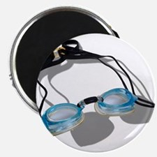"""Swimming Goggles 2.25"""" Magnet (10 pack)"""
