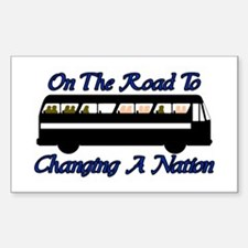 Changing Nation Rectangle Decal