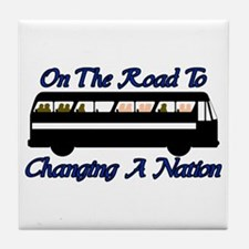 Changing Nation Tile Coaster
