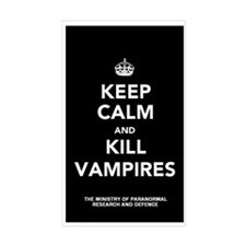 Kill Vampires Decal