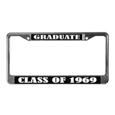Class of 1969 License Plate Frame