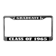 Class of 1965 License Plate Frame