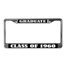 Class of 1960 License Plate Frame