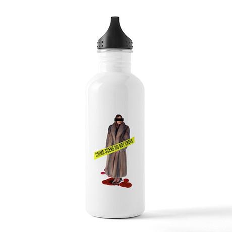 Crime Scene Stainless Water Bottle 1.0L