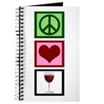 Peace Love Wine Journal