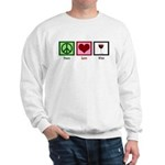 Peace Love Wine Sweatshirt