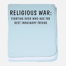 Religious War Infant Blanket