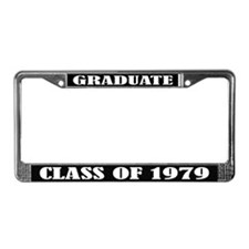 Class of 1979 License Plate Frame