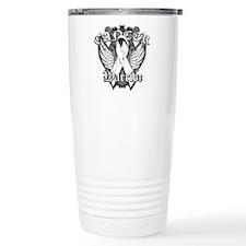 Lung Cancer Warrior Travel Mug