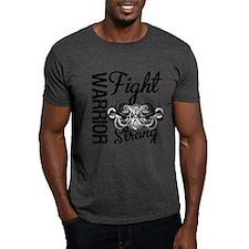 Warrior Lung Cancer T-Shirt