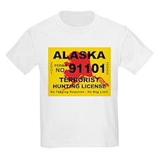 Alaska Terrorist Hunting Lice T-Shirt