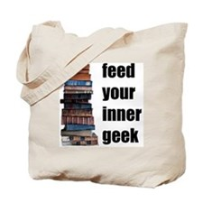 Feed Your Inner Geek Tote Bag