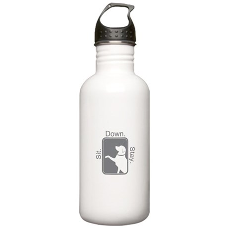 Shop Sit. Down. Stay. Stainless Water Bottle 1.0L