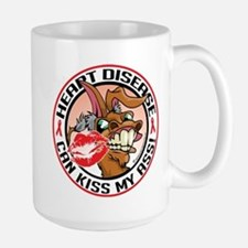 Heart Disease Can Kiss My Ass Mug