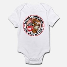 Heart Disease Can Kiss My Ass Infant Bodysuit