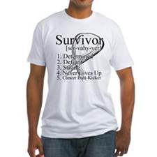 Lung Cancer Survivor Definiti Shirt