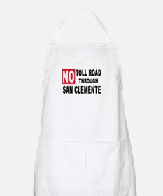 No Toll Through San Clemente Light Apron