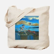 """Dog on the Beach"" Tote Bag"