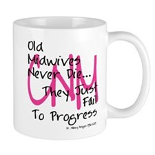 Old Midwives Pink Mug