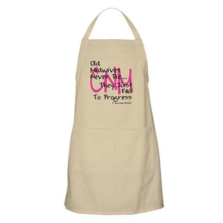 Old Midwives Pink Apron