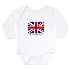 British Flag Union Jack Onesie Romper Suit
