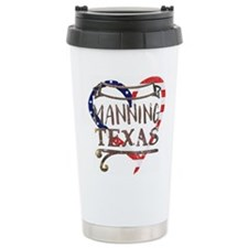 College Dropout - navy Large Thermos® Bottle