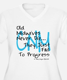 Old Midwives Blue T-Shirt