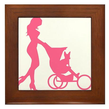 My Baby Framed Tile