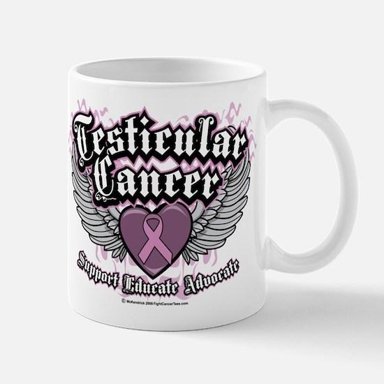 Testicular Cancer Wings Mug