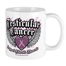 Testicular Cancer Wings Mug