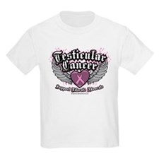 Testicular Cancer Wings T-Shirt