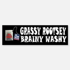 Grassy Rootsey Bumper Bumper Sticker