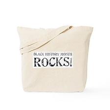 Black History Month Rocks Tote Bag