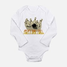Unique How i roll curling Long Sleeve Infant Bodysuit