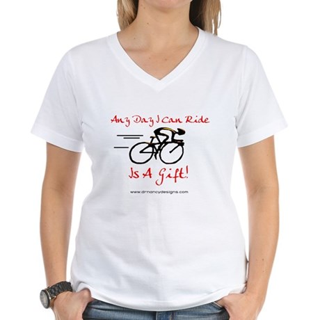 Any Day Women's V-Neck T-Shirt