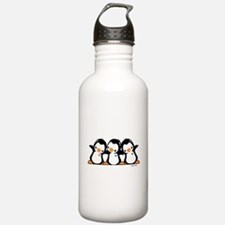 Penguins (together) Water Bottle