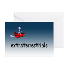 Extraterrestrials... Greeting Card