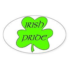 Irish Pride Oval Decal