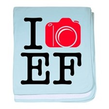 I Shoot EF (Canon) Love Photography Infant Blanket