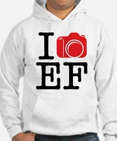 I Shoot EF (Canon) Love Photography Hoodie