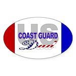 USCG Dad Oval Sticker