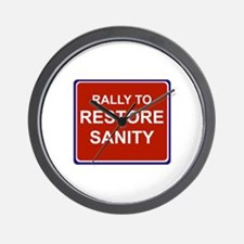 Rally to restore sanity Wall Clock