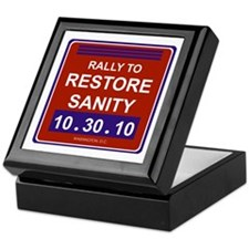 Restore sanity Keepsake Box