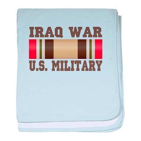 Iraq War Service Ribbon Infant Blanket