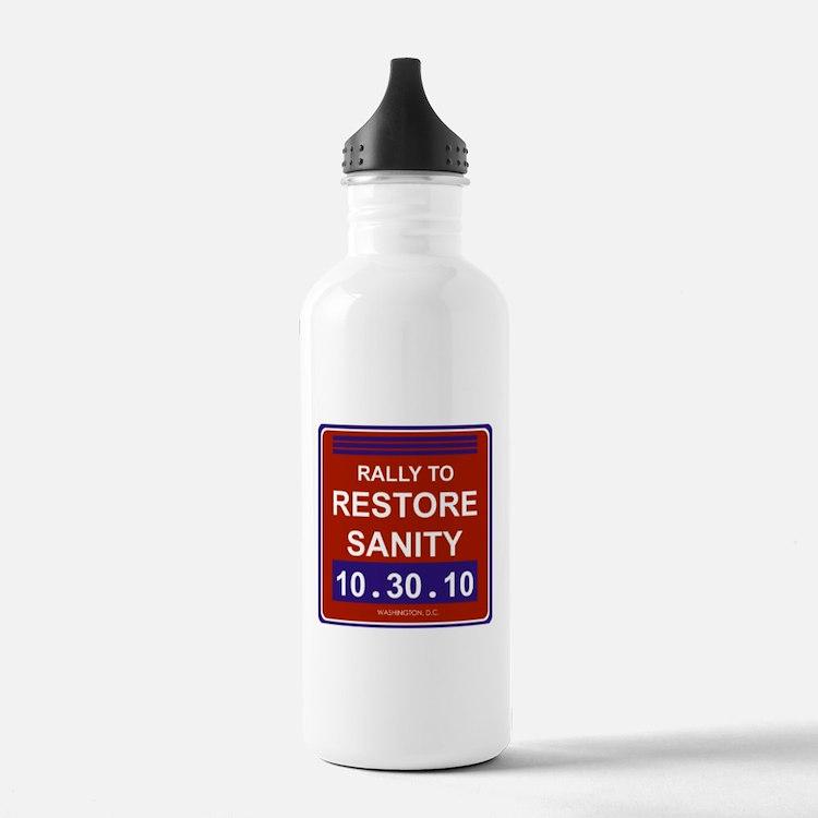 Cute Rally restore sanity Water Bottle