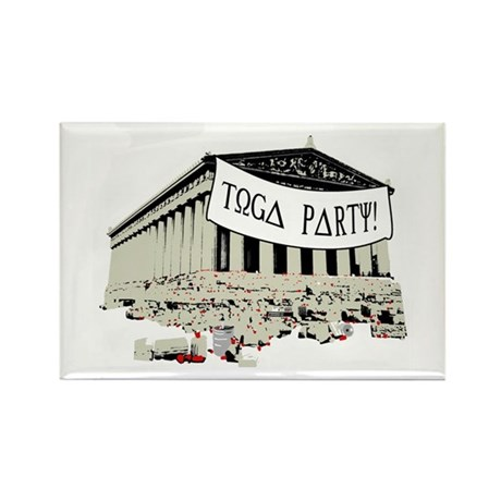 """Toga Party"" Rectangle Magnet (100 pack)"