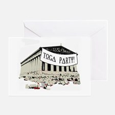"""""""Toga Party"""" Greeting Card"""