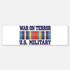 War On Terror Service Ribbon Bumper Bumper Sticker